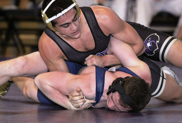 Falcons dominated Colonia Patriot Wrestling 65-3, Jan 20, 2014